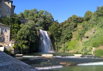 Isola del Liri waterfall