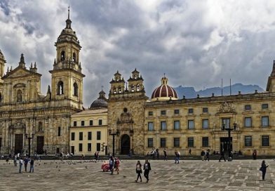 Geographic Map of Colombia