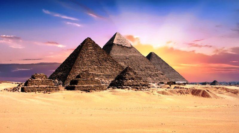 Mappa geografica dell'Egitto
