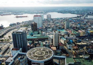 Mappa geografica della Nigeria