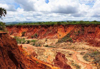 Mappa geografica del Madagascar